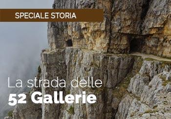 Le 52 gallerie: la guerra nel monte Pasubio